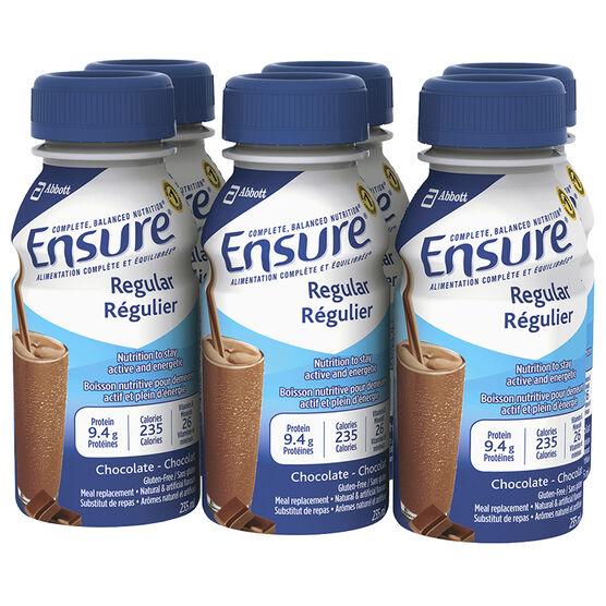 Ensure Regular - Chocolate - 6 x 235ml