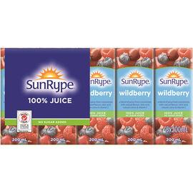 SunRype Fruit Juice - Wildberry -  8 x 5 x 200ml