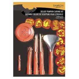 Danson Deluxe Pumpkin Carving Kit - 16 pieces