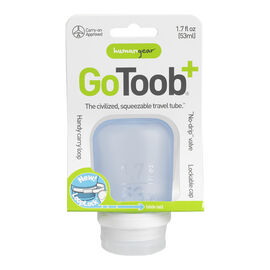 Go Toob+ Squeezable Travel Tube - Blue - 53ml