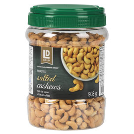 LD Gold Roasted Cashews - Salted