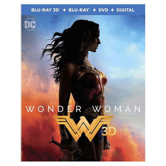 Wonder Woman - 3D Blu-ray