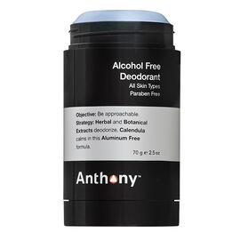 Anthony Alcohol Free Deodorant - 70g