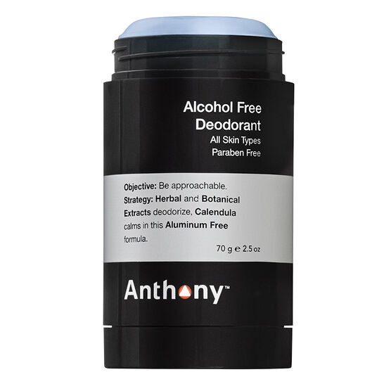 Anthony Alcohol Free Deodorant - 70g
