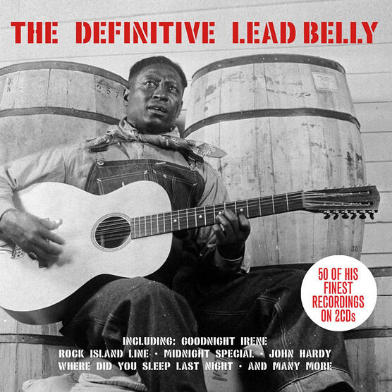 The Definitive Lead Belly - 2 CD
