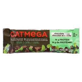 Oatmega Whey Protein Bar - Chocolate Mint - 50g