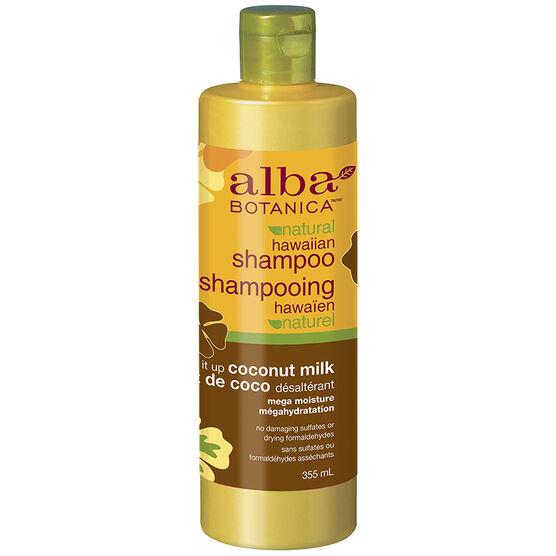 Alba Botanica Natural Hawaiian Shampoo - Coconut Milk - 355ml