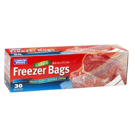 London Drugs Heavy Duty Freezer Bags - Large - 30's