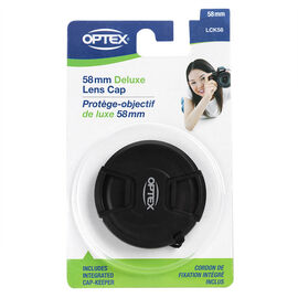 Optex Deluxe Lens Cap with Cap Keeper - 58mm - LCK58