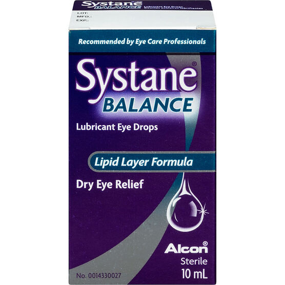 Systane Balance Lubricant Eye Drops - 10ml
