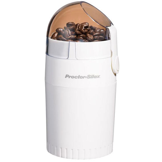 Proctor Silex Coffee Grinder - 12 Cup - White