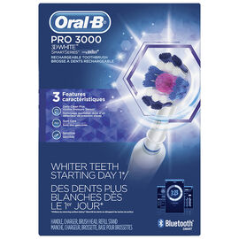 Oral-B PRO 3000 3D White Rechargeable Toothbrush - 85749
