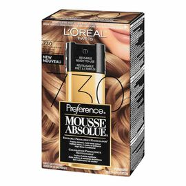 L'Oreal Preference Mousse Absolue Reusable Permanent Haircolour