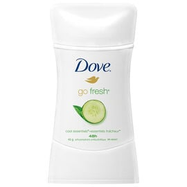 Dove Go Fresh Cool Essentials Cucumber Scent Anti-Perspirant Stick - 45g