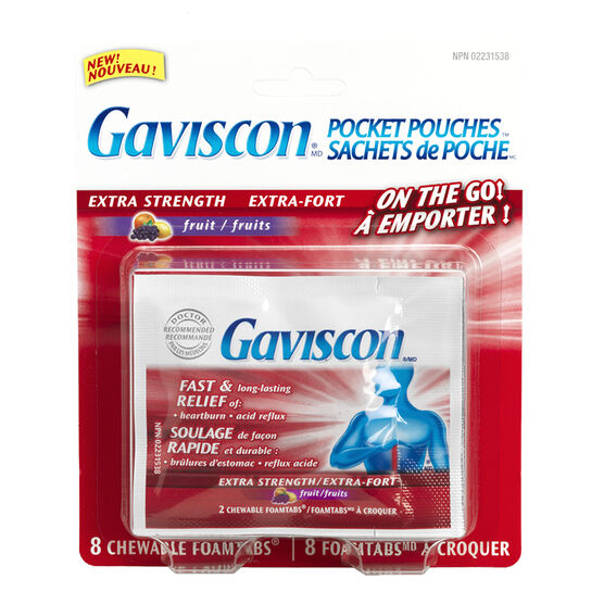 Gaviscon Portable Packs - 8's