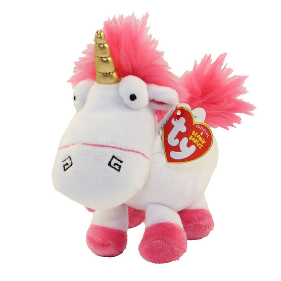 TY Despicable Me Beanie Baby - Fluffy Unicorn