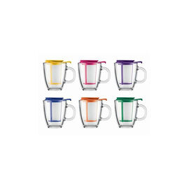 Bodum Mug and Tea Strainer - Assorted - 12oz