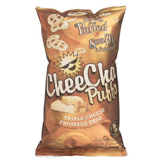 CheeCha Potato Puffs - Triple Cheese - 105g