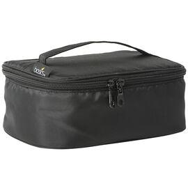 Basics Black Train Case - A000180LDC