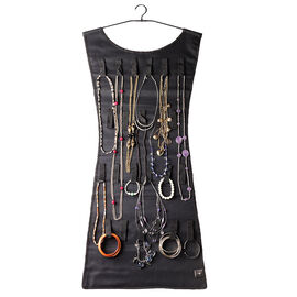 Umbra Black Dress Hanging Jewelry Holder