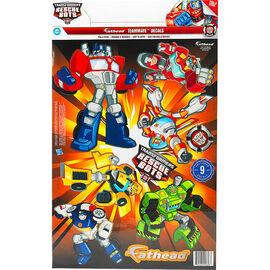 Transformers Rescue Bots Fathead Teammate Decals