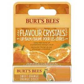 Burt's Bees Flavour Crystals Lip Balm - Sweet Orange - 4.25g