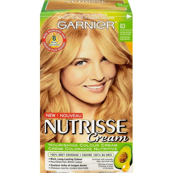 Garnier Nutrisse Cream Permanent Hair Colour 83 Natural