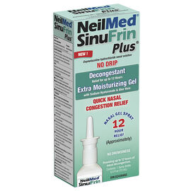 NeilMed SinuFrin Plus Decongestant Moisturizing Gel Spray - 15ml