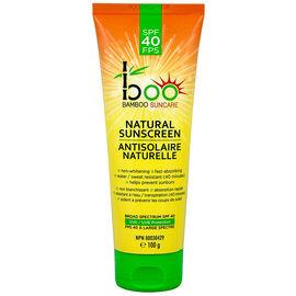 boo Bamboo Suncare Natural Sunscreen - SPF40 - 100g
