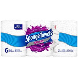 Spongetowels Mini's - 6's