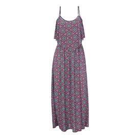 Lava Printed Maxi Dress - Fuchsia/Spiral - Assorted