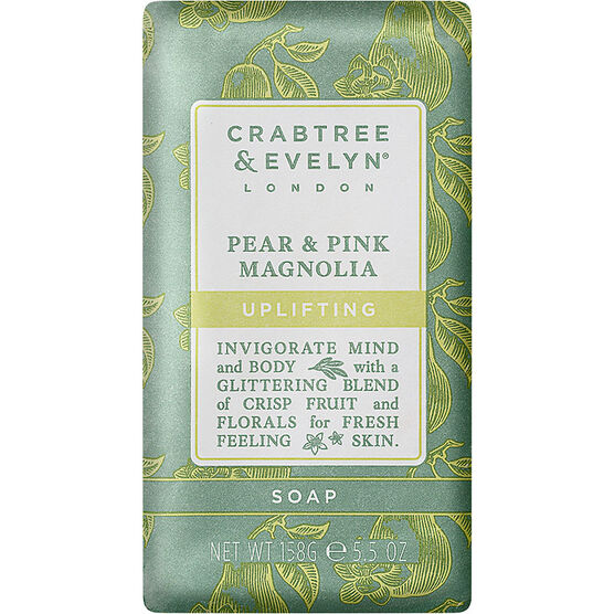 Crabtree & Evelyn Pear & Pink Magnolia Uplifting Soap - 158g
