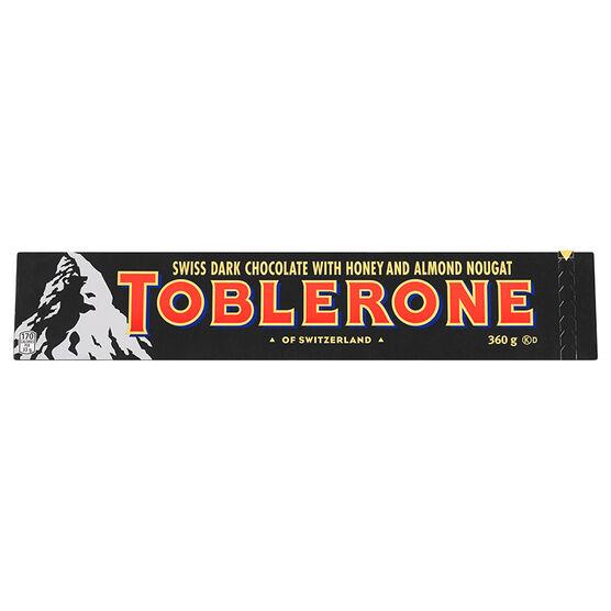 Toblerone - Dark Chocolate - 360g