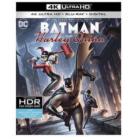 DC Universe: Batman and Harley Quinn - 4K UHD Blu-ray