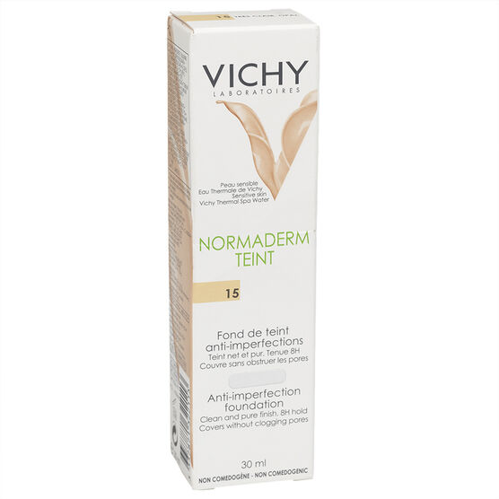 Vichy Normaderm Teint Anti-Imperfection Foundation - 15 Opal