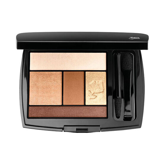 Lancome Color Design Eye Brightening All in One 5 Shadow and Liner Palette - Bronze Amour