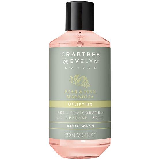 Crabtree & Evelyn Pear & Pink Magnolia Uplifting Body Wash - 250ml