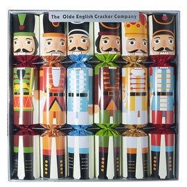 Christmas Cracker Nutcracker Print - 12in - 6 pack