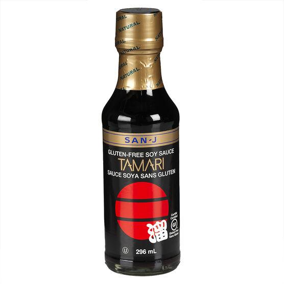 San-J Tamari Soy Sauce - 296ml