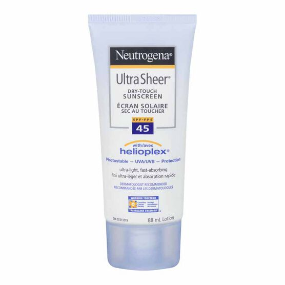 Neutrogena Ultra Sheer Dry-Touch Sunscreen - SPF 45 - 88ml