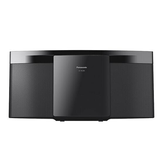 Panasonic Slim Bluetooth/CD Micro System - Black - SCHC295K