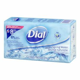 Dial Bar Soap - Spring Water - 8 x 113g