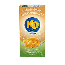 KD Organic Macaroni & Cheese - Original - 170g