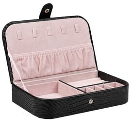 Beauty Scene Jewellery Box - Black