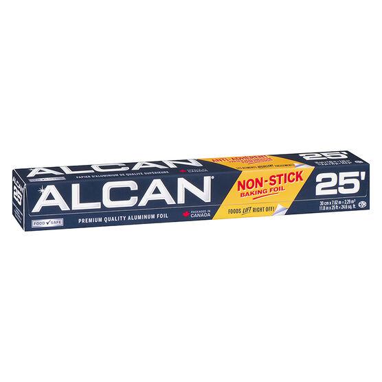 Alcan Non-Stick Aluminum Foil - 25ft