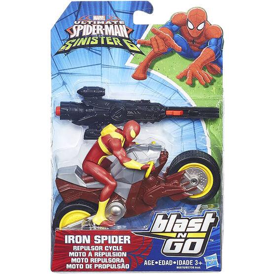 Spiderman Blast 'N Go Racers - Assorted