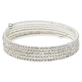 Anne Klein Stone Flex Bracelet