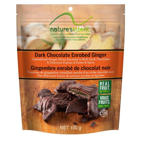 Nature's Intent Dark Chocolate Ginger - 100g