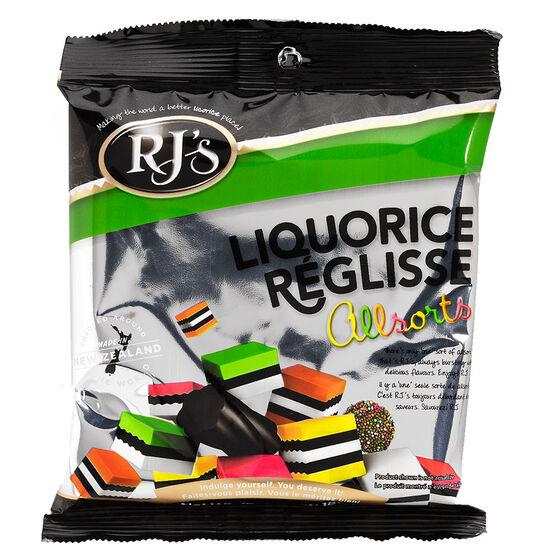 RJ's Licorice Allsorts - 180g