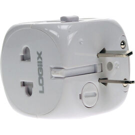 Logiix World Travel Adapter - White - LGX10280